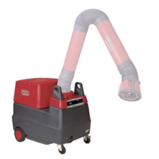Mobile Welding Fume Extraction Unit